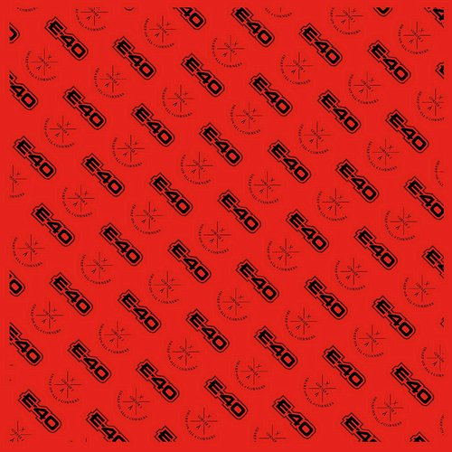 E-40 - Red Logo Bandana
