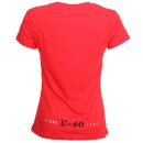 E-40 - Red Sluricane Ladies T-Shirt