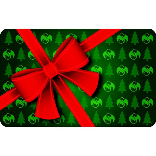 Strange Music Online Store - Holiday Bow Gift Card 2015