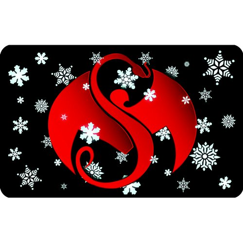 Strange Music Online Store - Snowflakes Gift Card 2015