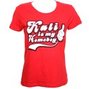 Krizz Kaliko - Red Homeboy Ladies T-Shirt