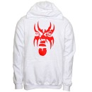 Krizz Kaliko - White Spider Face Hoodie - Extra Large