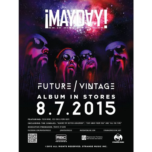"¡Mayday! - Future Vintage Poster 18"" x 24"""