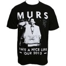 MURS - Black Have A Nice Life Tour 2015 T-Shirt - Extra Large