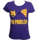 MURS - Purple No Problems Ladies T-Shirt - Ladies Large