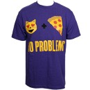 Murs - Purple No Problems T-Shirt - Medium