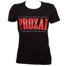 Prozak - Black Logo Ladies T-Shirt