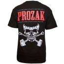 Prozak - Black Skull and Shovel T-Shirt