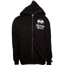 Prozak - Black Skull Zip Hoodie - Medium