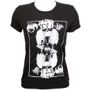 Rittz - Black King Ladies T-Shirt - Ladies Large