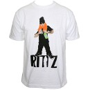 Rittz - White Cartoon T-Shirt - Large