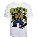 Rittz - White Smash T-Shirt - Extra Large