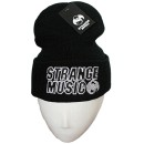 Strange Music - Black #2 Embroidered  Folded Skull Cap