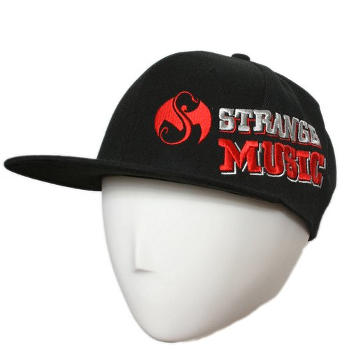 Strange Music - Black 2012 DP Hat Flat-Bill