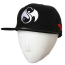 Strange Music - Black Logo Hat Flat-Bill - L/XL