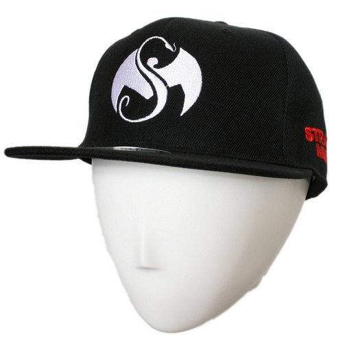 Strange Music - Black Logo Hat Flat-Bill