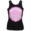 Strange Music - Black Certified Ladies Tank Top - Ladies Large