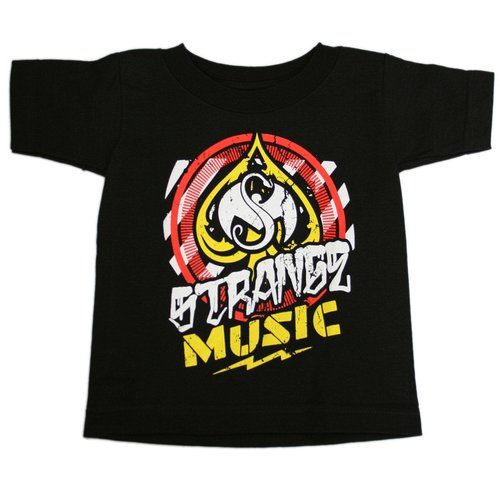 Strange Music - Black Spade Toddler T-Shirt