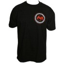 Strange Music - Black Spirograph T-Shirt