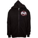 Strange Music - Black Cloudy Zip Hoodie - Extra Large