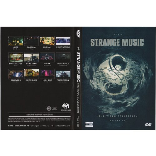 Strange Music - Video Collection Volume 7 DVD