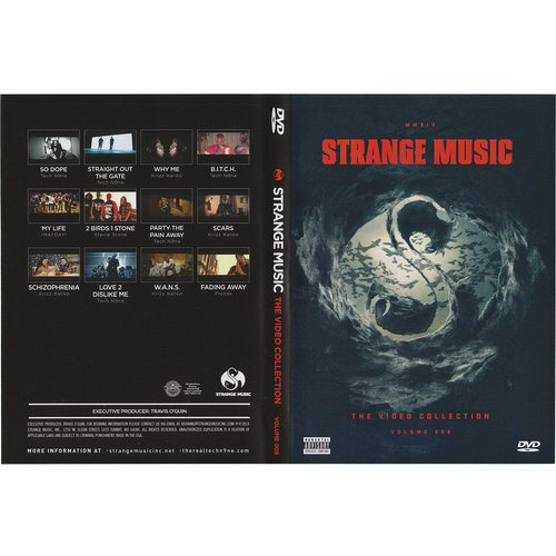 Strange Music - Video Collection Volume 8 DVD
