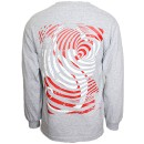 Strange Music - Gray Spirograph Long Sleeve Shirt