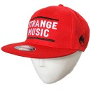 Strange Music - Red Bars Hat Flat-Bill - L/XL