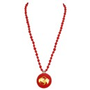 Free Strange Music - Red Resin Necklace w/purchase of $75 of SALE ITEMS