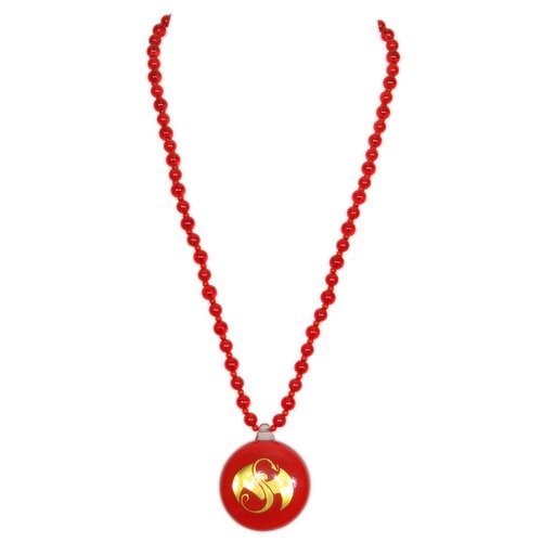Strange Music - Red Resin Necklace