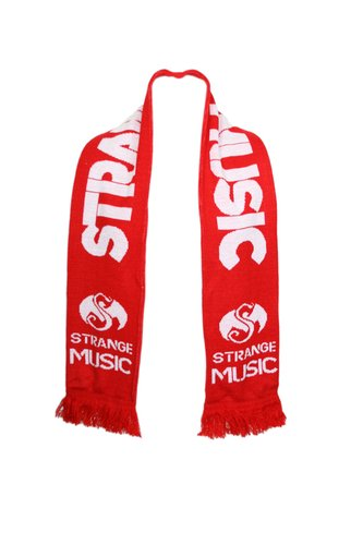 Strange Music - Red Soccer Scarf