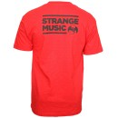 Strange Music - Red Roster T-Shirt