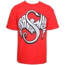 Strange Music - Red Wing Words T-Shirt - Large
