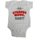 Strange Music - White Baby Body Suit - 18 Months