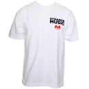 Strange Music - White Flannel T-Shirt - Large