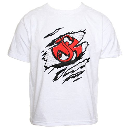 Strange Music - White Ripped Youth T-Shirt
