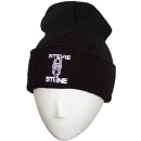 Stevie Stone - Black 2015 Embroidered Folded Skull Cap