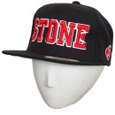Stevie Stone - Black Snapback Hat