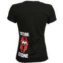 Stevie Stone - Black Run It Ladies T-Shirt
