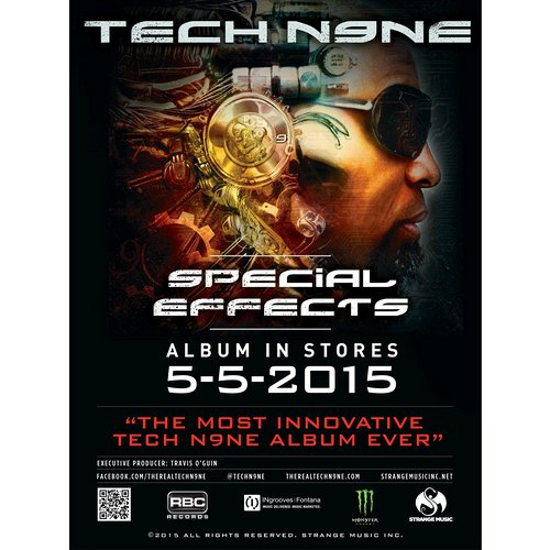 "Tech N9ne - Special Effects Poster 18"" x 24"""