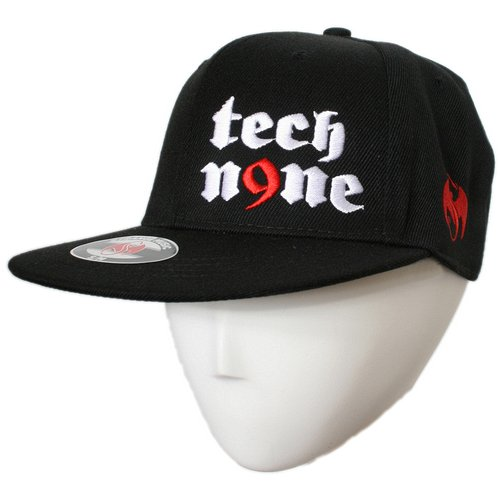Tech N9ne - Black Gothic Hat Flat-Bill