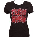 Tech N9ne - Black Red Scars Ladies T-Shirt