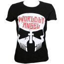 Tech N9ne - Black Worldly Angel Ladies T-Shirt - Ladies Small