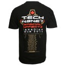 Tech N9ne - Black Special Effects Canadian Tour 2015 T-Shirt
