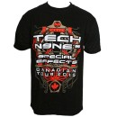 Tech N9ne - Black Special Effects Canadian Tour 2015 T-Shirt - 3-XL