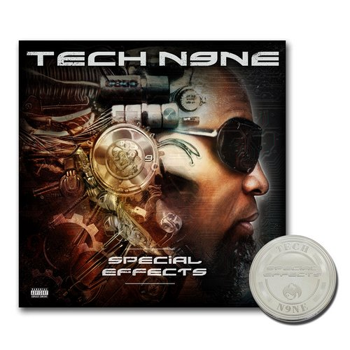 Tech N9ne - Special Effects CD - Deluxe with DVD and Limited Edition Collectors Coin