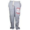 Tech N9ne - Gray Facepaint Sweat Pants - Medium