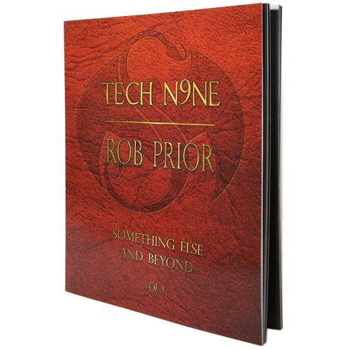 Tech N9ne - Rob Prior Something Else and Beyond Paperback Book