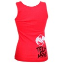 Tech N9ne - Red 9 Ladies Tank Top