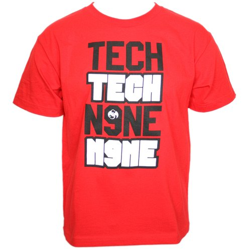 Tech N9ne - Red Tech Tech Youth T-Shirt